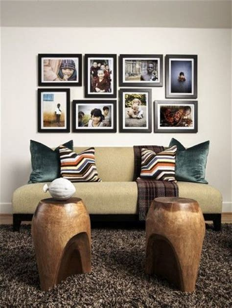 arranging pictures over sofa frame arrangement for above the sofa for the home