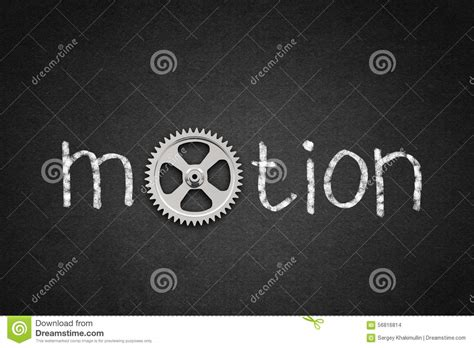 4 Letter Words Motion word motion stock photo image 56816814