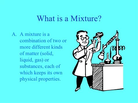 what is a one mixtures and solutions lesson 1