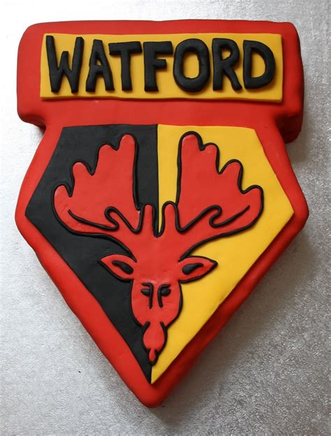 Football Cake Decorations Watford Fc Cake