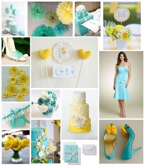 37 best images about Tiffany Blue and Yellow on Pinterest