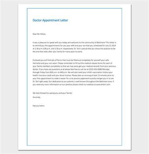 appointment letter sle in doc appointment letter format word document 28 images