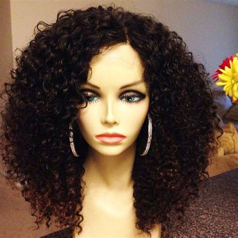 why is my hair curly in front and straight in back hot short curly human hair wigs virgin brazilian curly