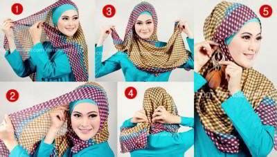Keranjang Baju Segi cara memakai jilbab segi empat terbaru 2015 rp 50rb