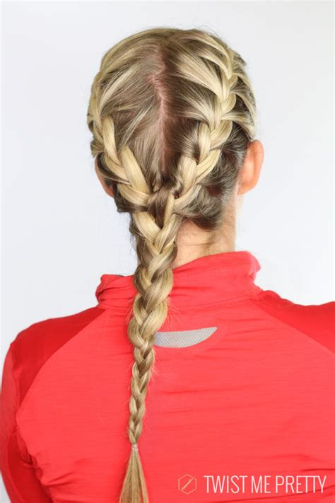 Work Out Hairstyles by 5 Workout Hairstyles Twist Me Pretty