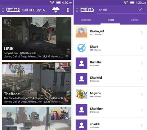 twitch apk twitch android apps apk v4 70 best pc de