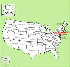 Map Us Philadelphia Images Maps United States Map - Philadelphia location on us map