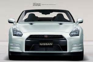 Nissan Front Nissan Gtr Convertible Front View By Yogabudiwcustom On