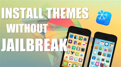 change themes iphone 5 ios 8 install themes no jailbreak winterboard themes