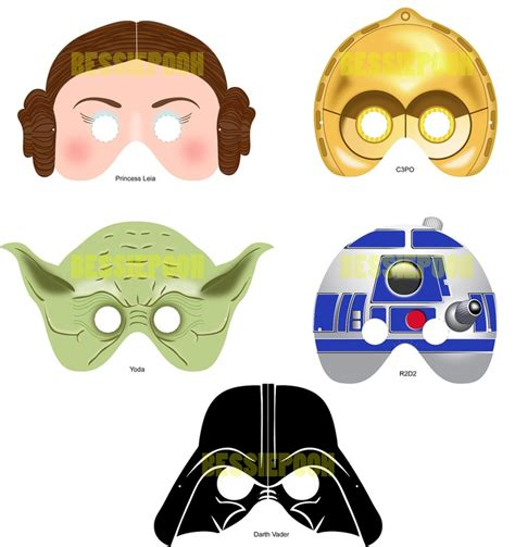 printable jedi mask 42 best images about dress up star wars on pinterest