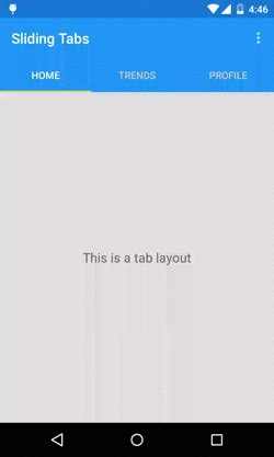 tab layout android material design tab layout material design support library tutorial