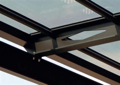 tettoia addossata tettoia pergola addossata in alluminio copertura in