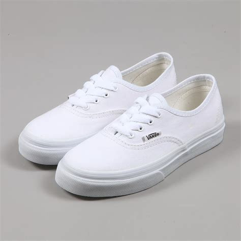 Vans Authentic Icc White all white vans www pixshark images