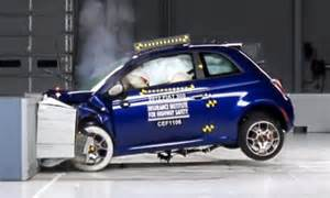 Fiat 500 Passengers Fiat 500 Named Worst Car For Passenger Injuries In U S