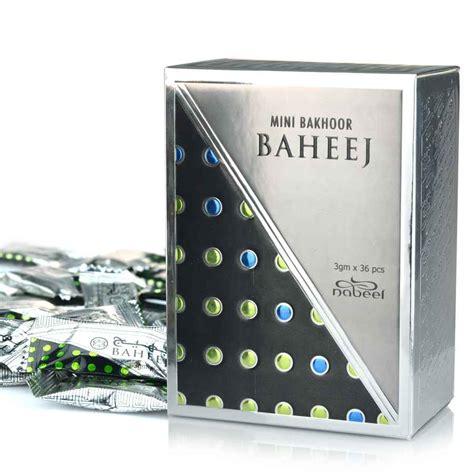 Bakhoor Mini mini bakhoor baheej incense by nabeel 108gm box of 36 x 3gm