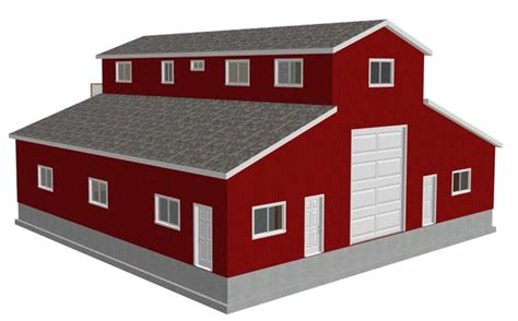 barn with apartment plans barn with apartment plan garages pinterest