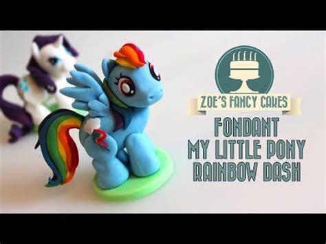 Fondant Cake Bisa Custom Model 6 rainbow dash model how to make a my pony fondant cake topper fimo tutorial