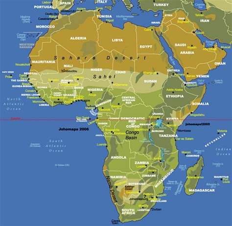 8 maps africa map of africa political pictures