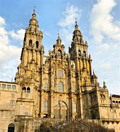 camino to santiago de compostela catedral de santiago de compostela la
