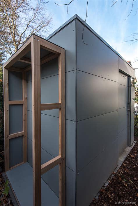 gartenhaus mit holzlager design gartenhaus bilder referenzen gartenschr 228 nke