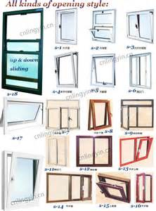 Aluminum Awning Parts Modern House Aluminium Sliding Window In Wooden Color With