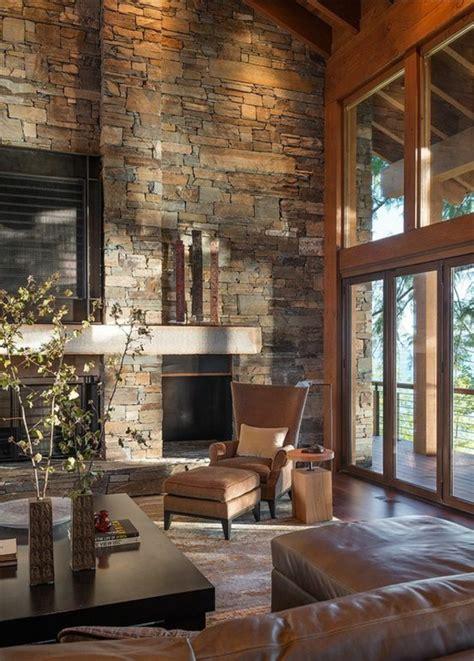 steinwand für wohnzimmer vorschlaege wandgestaltung wohnzimmer mit stein
