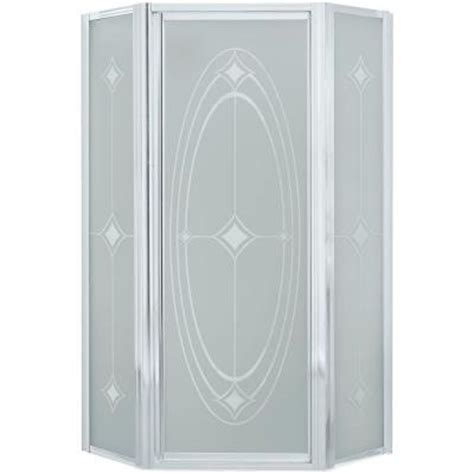 Sterling Intrigue 36 1 8 In X 72 In Neo Angle Shower Sterling Glass Shower Doors