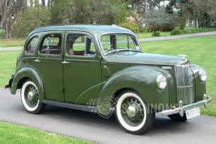 Ford Prefect Sold Ford Prefect 10hp Saloon Auctions Lot 39 Shannons
