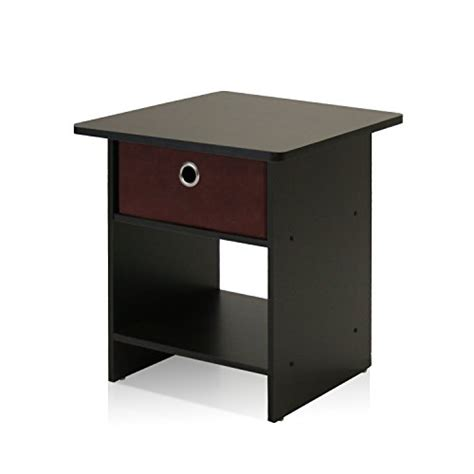 nightstand with charging station black oak finish top 10 most wished bedroom nightstand furniture february