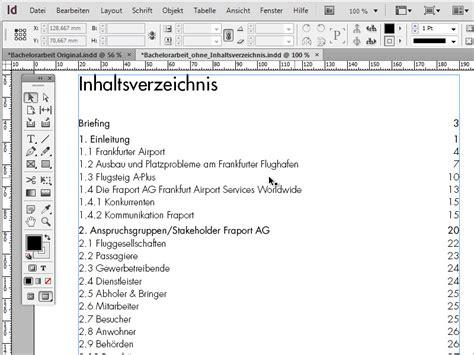 seminararbeit layout inhaltsverzeichnis bachelorarbeit inhaltsverzeichnis