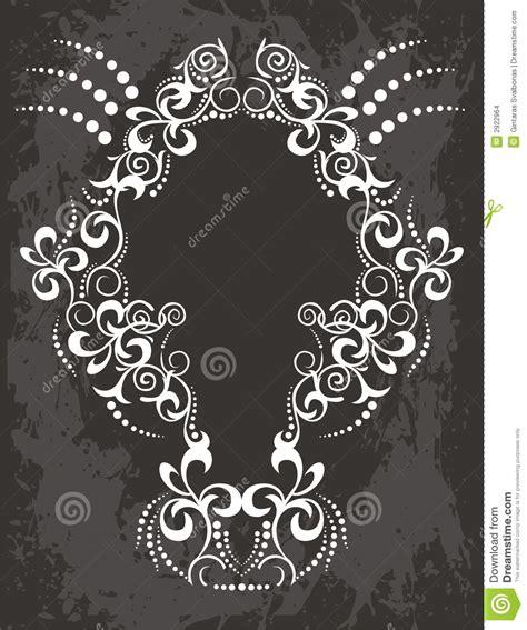 fancy black black and white fancy frame stock vector image 2922964