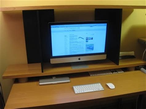 Elevated iMac Monitor Shelf   IKEA Hackers   IKEA Hackers