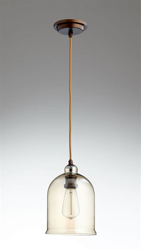 bronze glass pendant light celia bronze and cognac glass pendant light by cyan design