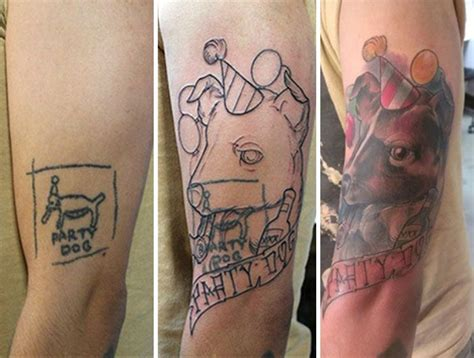 tattoo cover up show creative tattoo cover ups that show even the worst tattoos