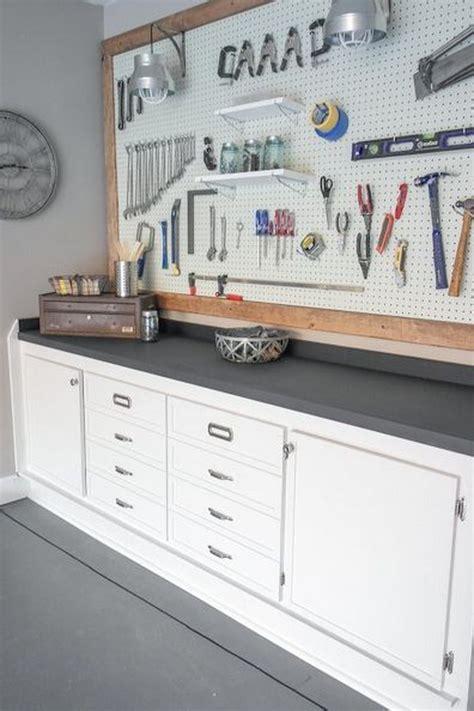 Garage Workbench Storage Ideas Clever Garage Storage And Organization Ideas Hative
