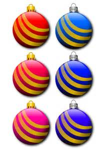 Small Office Decoration clipart christmas balls
