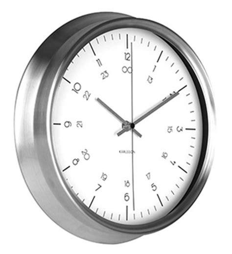 Uhr Karlsson by Karlsson Ka5597wh Wanduhr Bei Uhren4you De