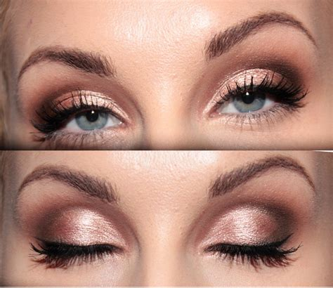 pink brown eyeshadow 13 charming golden eye makeup looks for 2017 pretty designs
