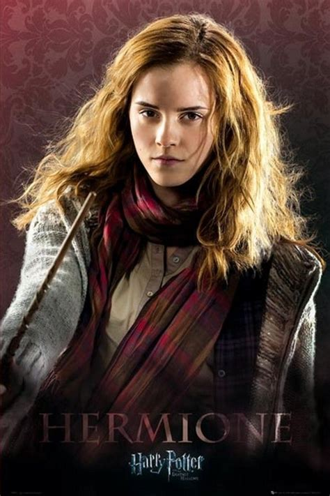 life with hermione emma watson promo pics from harry potter and the deathly