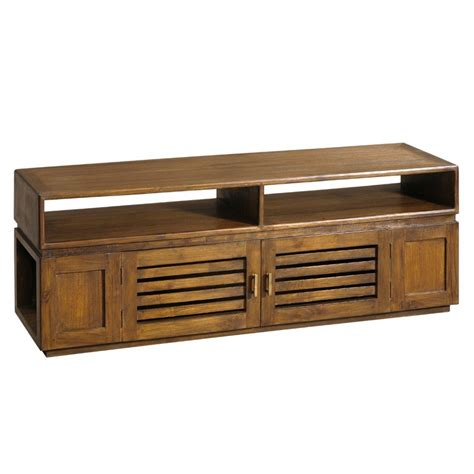 Meubles Teck meuble tv en teck talang origin s meubles