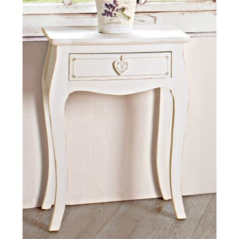 comodino bianco comodino legno bianco shabby mobili provenzali