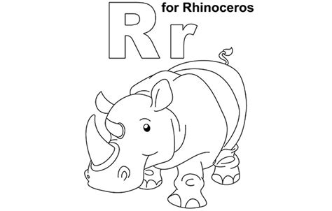 coloring pages that start with the letter r letter r coloring pages to download and print for free