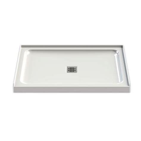 maax olympia 48 in x 32 in single threshold shower base