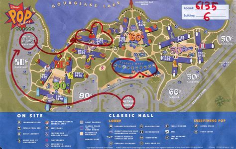 pop century resort map disney s pop century resort map or do you the way to room 6135 flickr photo
