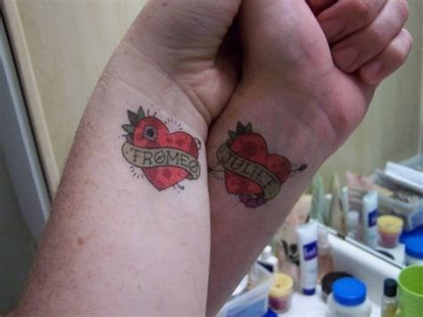 couples heart tattoo tattoos quotes quotesgram