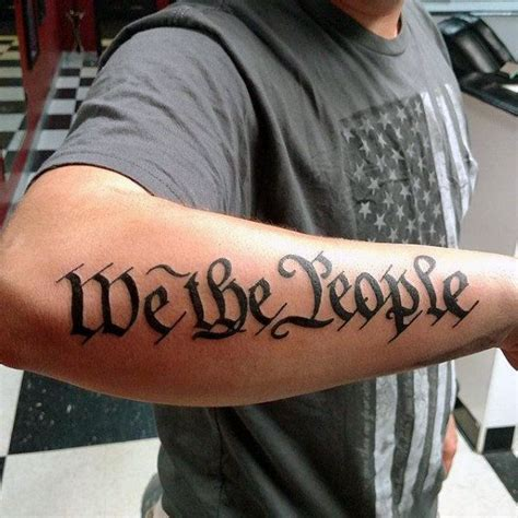 tattoo tribal vol 64 60 we the people tattoo designs for men constitution ink
