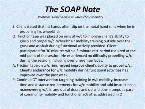 pediatric physical therapy soap note beautiful fine pediatric
