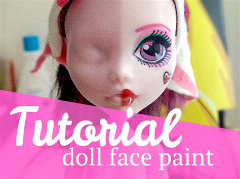 painting doll tutorial doll paint mj hsu