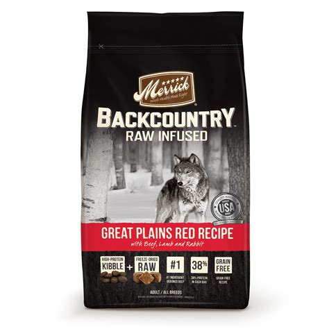 the puppy store merrick merrick backcountry grain free infused great plains food