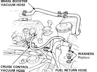 1997 Honda Accord Brake System Diagram 1997 Honda Accord Vacuum Line Diagram 1997 Get Free